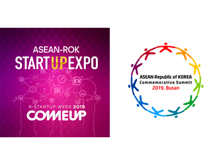 Uc Chau Corp attends the Asean - ROK Start-up Expo, Come Up 2019
